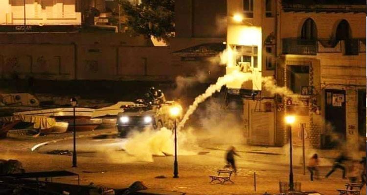 بنزرت: عودة المواجهات بين الأمن وعدد من المحتجين