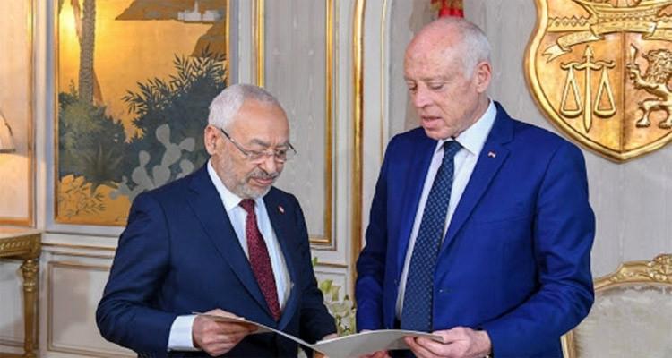 الغنوشي يرد على قيس سعيد: شرعية حكومة الوفاق هي الشرعية الوحيدة في ليبيا