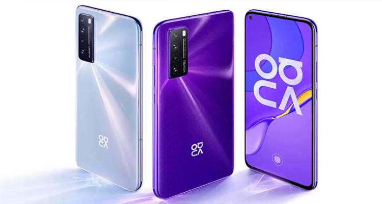 La génération 5G commence avec le nouveau Huaweu Nova 7