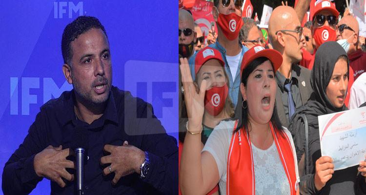 سيف الدين مخلوف: كتلة الدستوري الحر لا يستحون أحنا أنظف وأشرف منهم