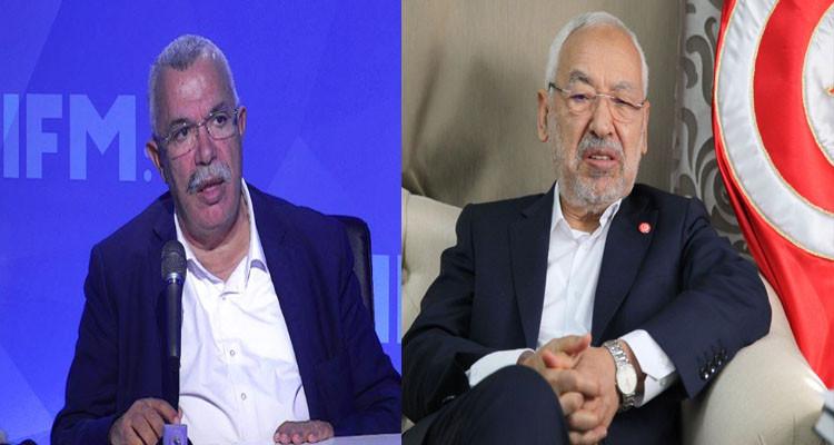 نور الدين البحيري: أنا متمسك برئاسة راشد الغنوشي للنهضة ومانيش وحدي
