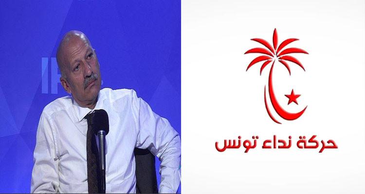 رضا بالحاج: لولا نداء تونس ما نكونوش اليوم نحكيو هكة