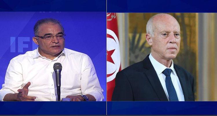 محسن مرزوق: بعد عام مازلنا في انتظار قيس سعيد يبدا يخدم كرئيس جمهورية