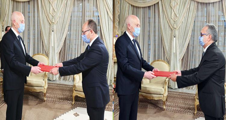 رئيس الجمهورية يسلّم أوراق اعتماد سفيري تونس لدى فرنسا وليبيا