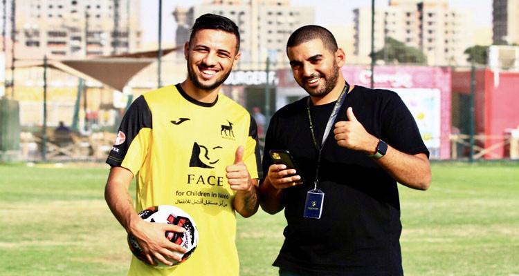 وادي دجلة المصري يقدم رسميا لاعبه التونسي الجديد إيهاب المباركي