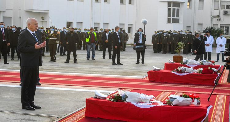 قيس سعيد: سقط ضحايا من قواتنا الأمنية اليوم وهم يؤدون الواجب ولن ننساهم