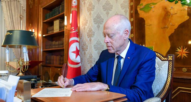 مراسلة رئاسة الجمهورية التي طالبت فيها رئيس البرلمان بإصلاح خطأ(وثيقة)
