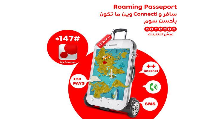 Ooredoo votre partenaire voyage par excellence dans 38 destinations !