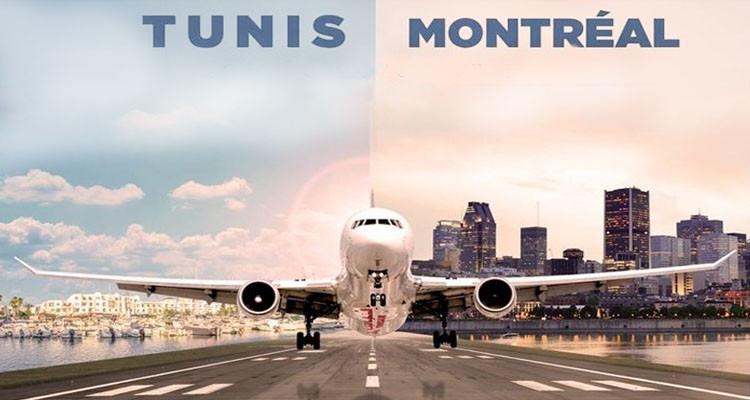 تعديل الرحلات الجوية من تونس إلى مونتريال بداية من غرة مارس 2021