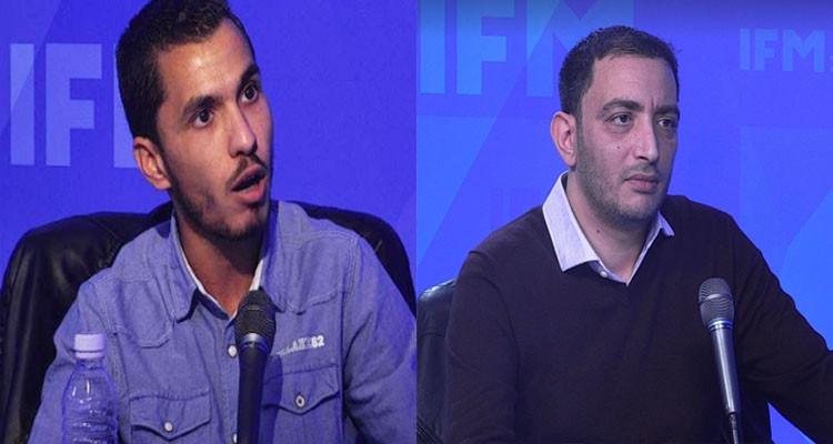 """رياض جراد يرد على ياسين العياري بعد اتهامه له """"بالتقفيف"""" لقيس سعيد"""