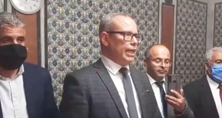 رئيس كتلة حركة النهضة يعتذر من الصحفيين