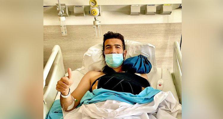 المهاجم هيثم الجويني يخضع لتدخل جراحي في تونس