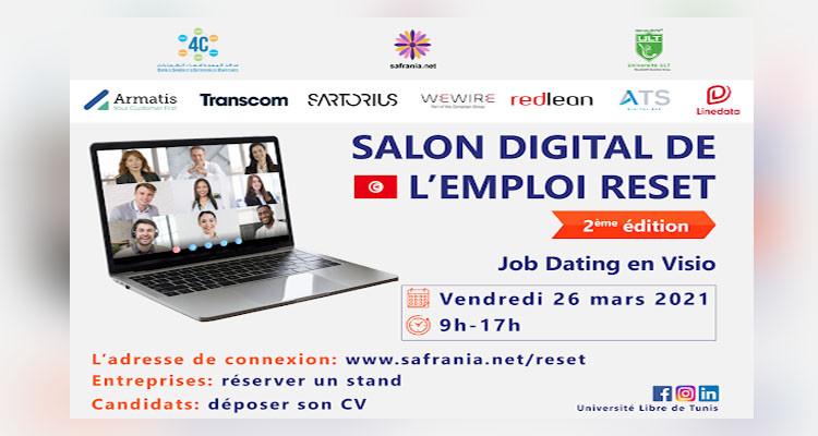 Le Salon digital de l'emploi dans sa deuxième édition
