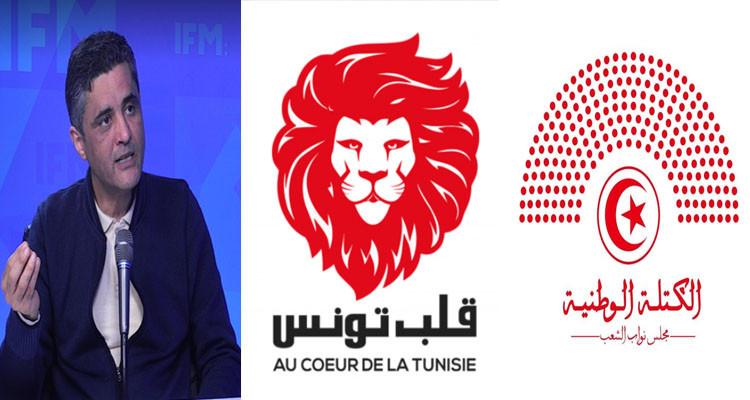 الناصفي: قعدنا مع كتلة قلب تونس والكتلة الوطنية لإيجاد حل للأزمة