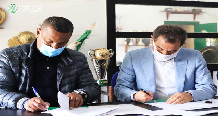 لسعد جردة يمضي عقدا رسميا مع الرجاء المغربي