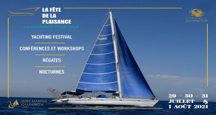 Ajournement de l'événement Yachting Festival de Gammarth 2021