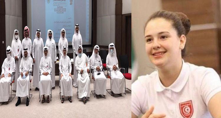 عضو الاتحاد القطري للملاكمة يوضح لإي أف أم بخصوص الملاكمة أسماء الباجي