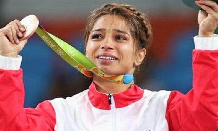 Tournoi de Pologne de lutte : Marwa Amri remporte une médaille d'or