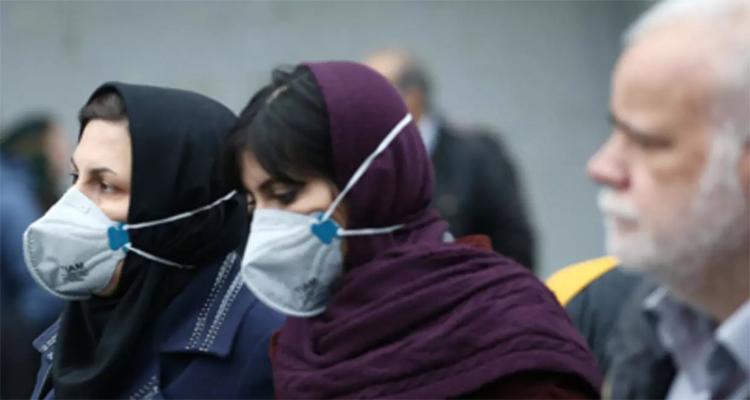 ارتفاع عدد المصابين بالكورونا في ايران