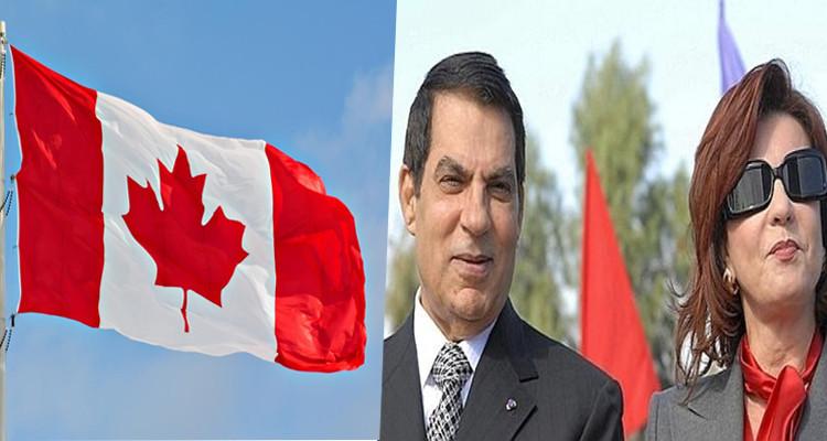 كندا التمديد تجميد ممتلكات بن علي