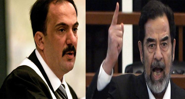 قاضي محاكمة صدام حسين  محمد عريبي