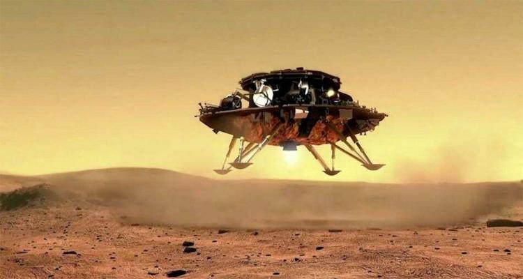 روبوت صيني على كوكب المريخ