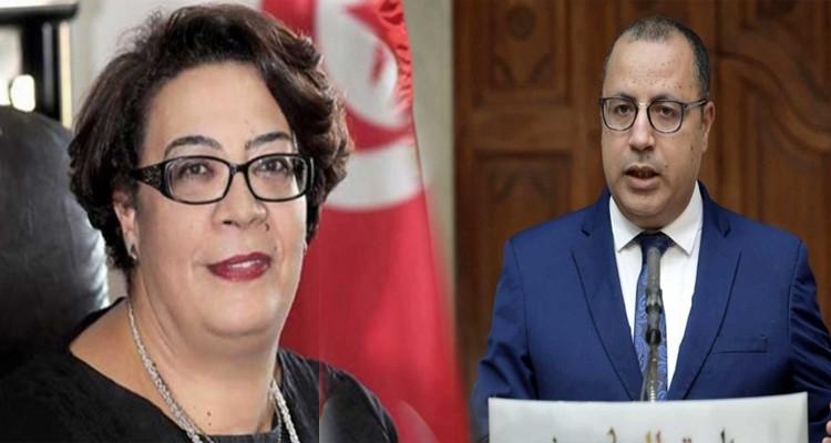 سيدة قراش وهشام المشيشي