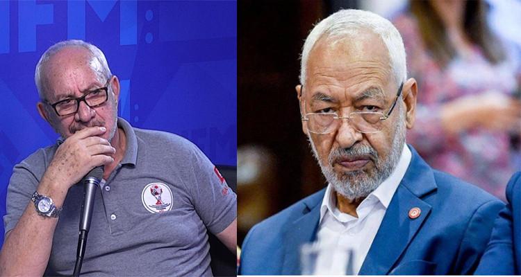 خالد حسني وراشد الغنوشي