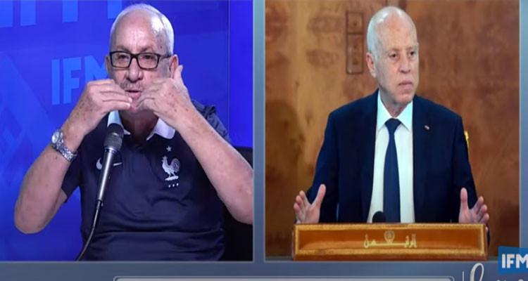 خالد حسني وقيس سعيد