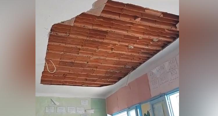سقوط سقف قسم