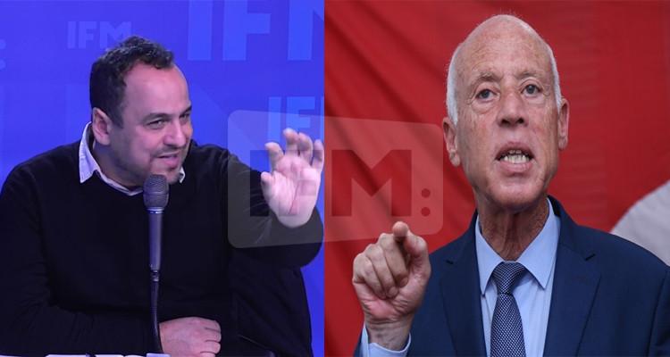 مراد الزغيدي وقيس سعيد