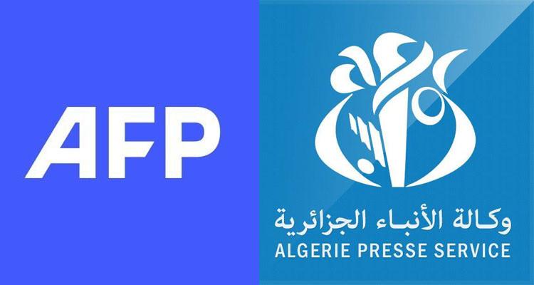 وكالة الانباء الجزائرية ووكالة الانباء الفرنسية