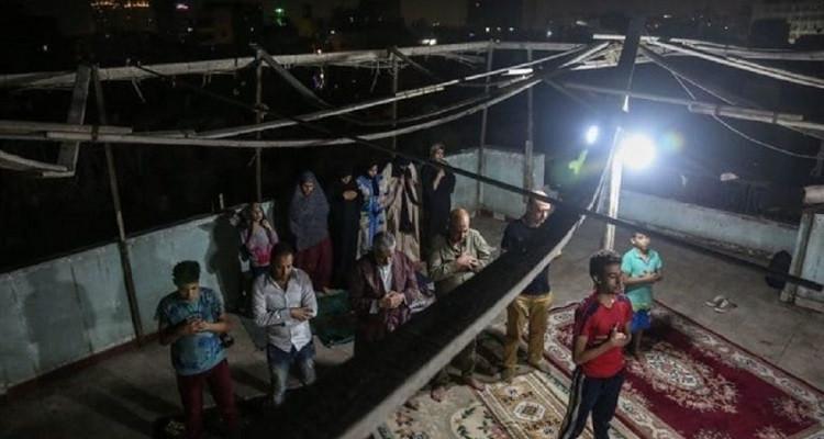 الأمن المصري صلاة التراويح