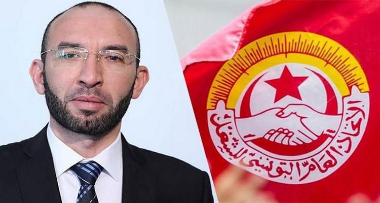 النائب محمد العفاس الاتحاد العام التونسي للشغل