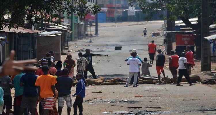 احتجاجات دولة غينيا