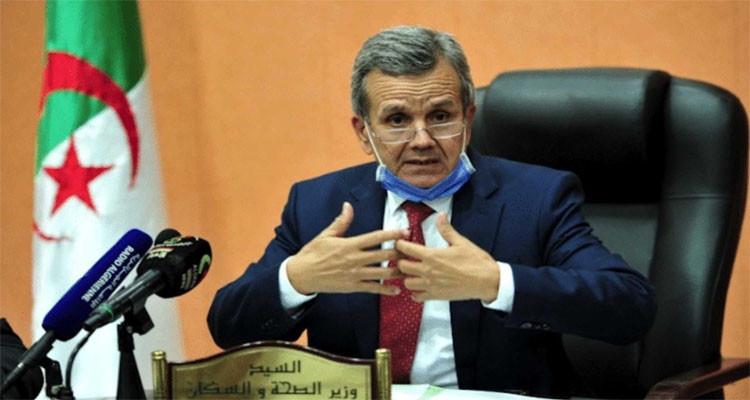 وزير الصحة الجزائري توتس اللقاح الروسي