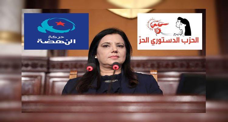 سميرة الشواشي عصا شيخ الإخوان الغليظة