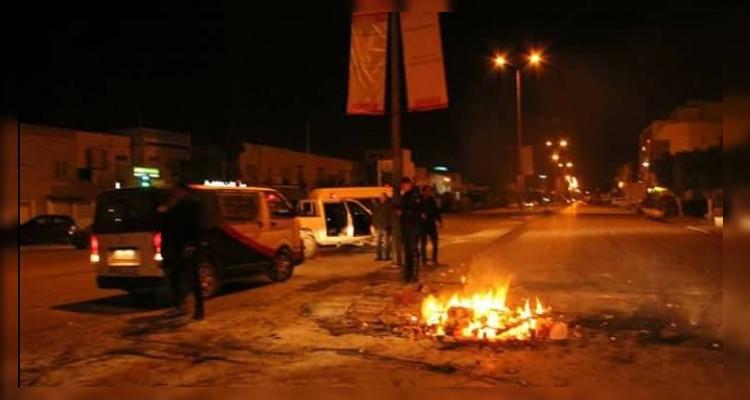 صفاقس: القبض على قاصر شارك في أعمال الشغب الليلية