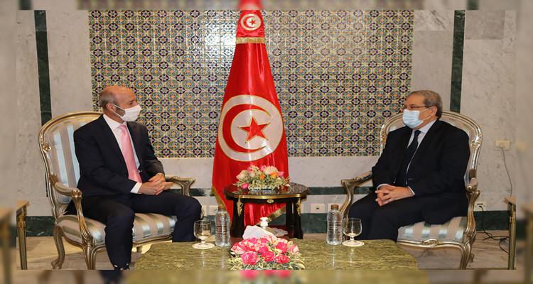 وزير الخارجية عثمان الجرندي وسفير كندا بتونس