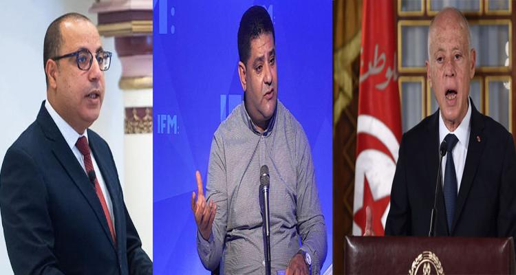 وليد جلاد: الرئيس سعيّد لن يرضى بأقل من ''رأس هشام المشيشي'' (فيديو)