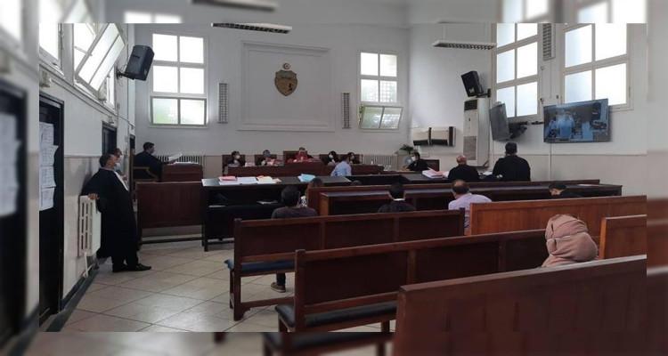 محكمة الاستئناف بصفاقس تعقد أولى جلساتها عبر تقنية الفيديو