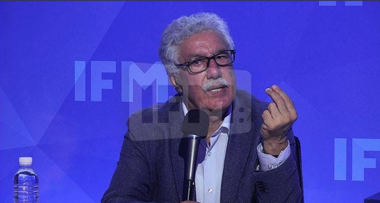 حمة الهمامي: إسقاط المنظومة واجب حتى لا يعود إلى بلادنا ''العكري بوبرطلة''