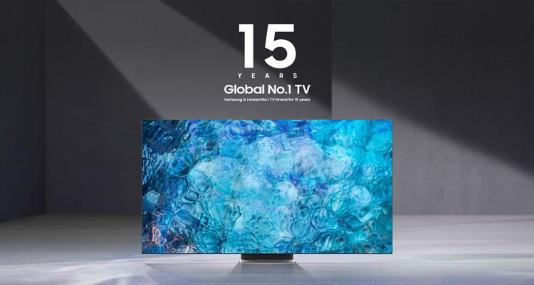 Samsung, leader mondial du secteur de la TV depuis 15 ans !