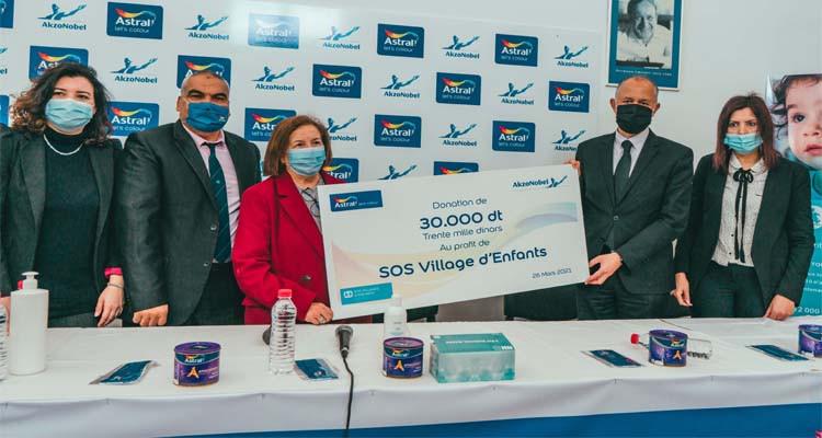 Astral soutient les enfants SOS Village avec l'initiative
