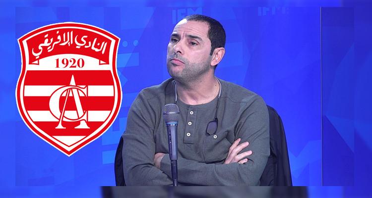  نادر داود: الافريقي لازمو وقت بش يربح الناس الكل ويطلع للمرتبة الرابعة