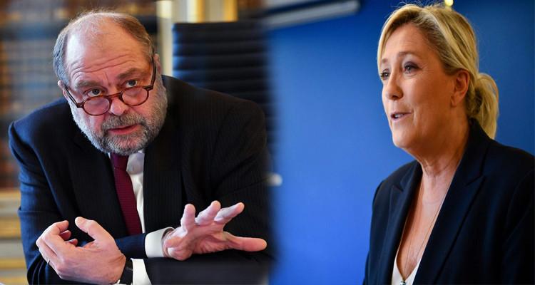 وزير العدل الفرنسي لمارين لوبان: كفي عن توظيف الدماء لتسجيل نقاط سياسية