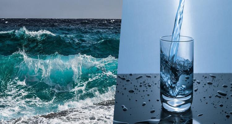 مياه مالحة صالحة للشرب