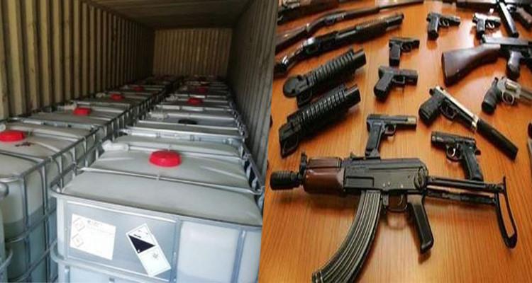 ايطاليا: إحباط تصدر مواد تصنيع الأسلحة  تونس نابولي  فلوريد الهيدروجين
