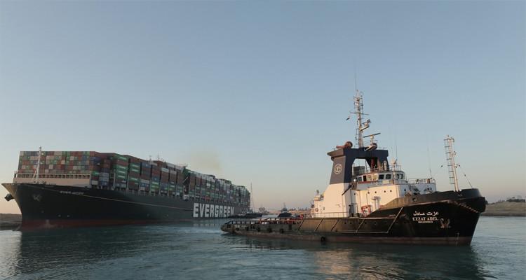 مصر تحجز السفينة ''إيفر غيفن'' حتى سداد مالكيها 900 مليون دولار