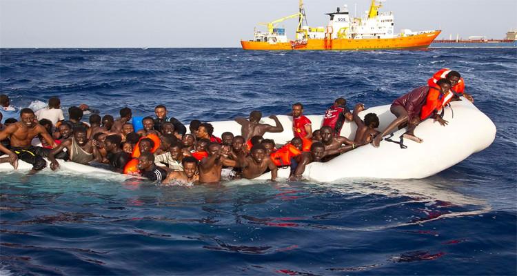 غرق 17 مهاجرا إفريقيا قبالة سواحل جرجيس
